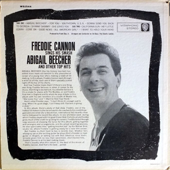 Freddie Cannon - WB Stereo Back Cover