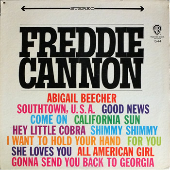 Freddie Cannon - WB Stereo Cover