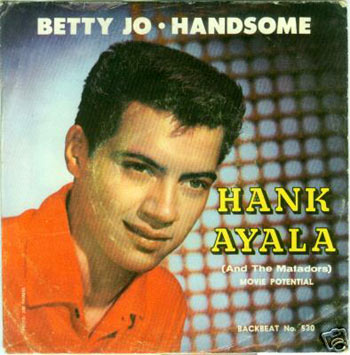 Hank Ayala Picture Sleeve Front