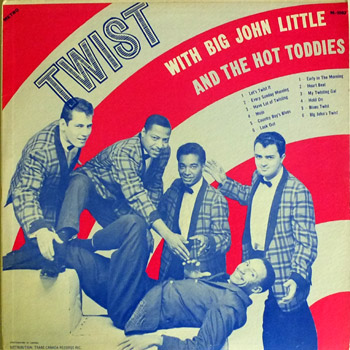 Big John Little - Twist LP Cover
