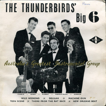 Thunderbirds EP Cover